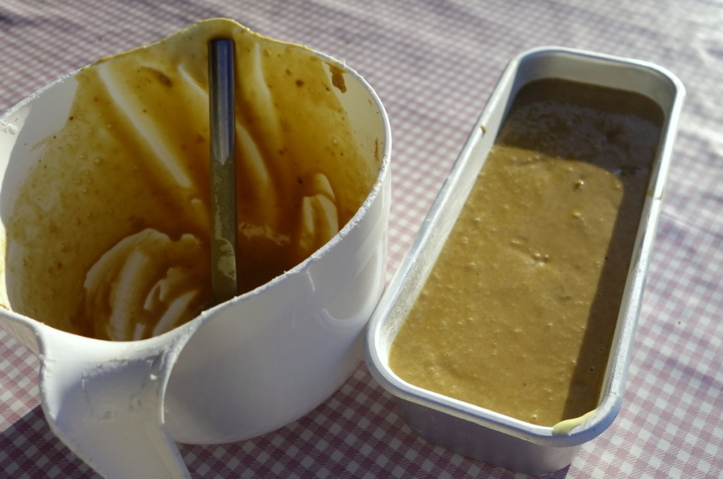 Sticky toffee pudding mold